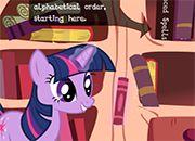 La biblioteca de Twilight Sparkle