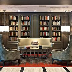 Design: Leo A Daly  |  Project: The Melrose Georgetown Hotel, Washington, DC  |  Photography by Tony Secker.