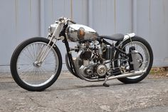 BSA A7 Bobber by Cyclops Motorcycle #bobber #motos #motorcycles | caferacerpasion.com