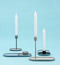 Folk Candlestick by Normann Copenhagen