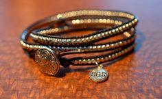 Triple Silver Marathon Wrap Bracelet by Runwraps on Etsy