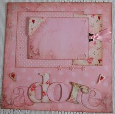 Adore in Pink - Scrapbook.com.  Most favoured in my gallery. Lots of Daisy D paper.