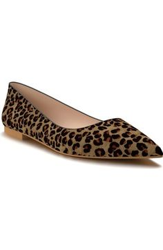 Shoes of Prey Pointy Toe Flat (Women) available at #Nordstrom