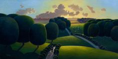 One Man And His Dog 12x24, Paul Corfield