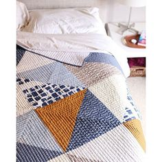 beauitful modern quilt from noodlehead