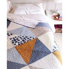 beauitful modern quilt from noodlehead