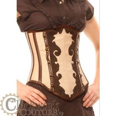 French Curve Underbust Corset