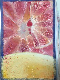 5-23-16 Pastel Grapefruit Project