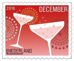 Champagne! #Decemberzegels2016