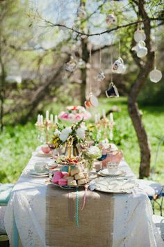 A beautiful tea party awaits you dear Marty! I hope it's been a delightful  week for you, my friend! I've  enjoyed celebrating with you. Love and hugs, Maureen 9/5/16