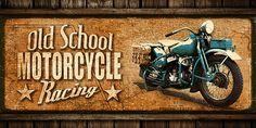 JF_0073_GR2 Cuadro Old School Motorcycle Racing