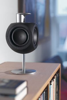 The BeoLab 3 is just the speaker for the gentleman's studio!