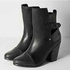 Rag & Bone Kinsey Booties Authentic Rag & Bone 'Kinsey boot'  European size 40- US size 10 (I wear a 9 normally)****** I would say these are a 9****Worn these one time for a couple hours and they're just to high for me so they are in EXCELLENT condition. Paid $595, plus tax at Saxs ❌no trades❌ box included. Still available online and in stores. Ask for additional pictures. No defects at all rag & bone Shoes Heeled Boots