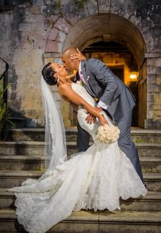 The scenery and celebration made this blush wedding in Montego Bay every bit of the beauty you may think it is.Â