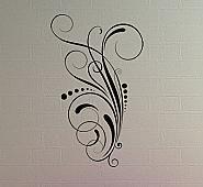 tall swirl dot