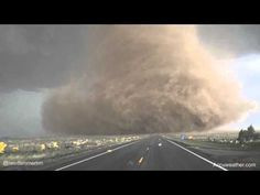 Check out this extreme up-close footage of a tornado that touched down just north of Wray, CO yesterday. This video was posted by Reed Timmer Meteorologist and Extreme Storm Chaser. Pinner - I saved this June 2016.