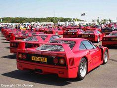 Ferrari F40s