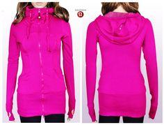Fashion Lululemon Athletica Yoga Live Simply Jackets Pink 117-LZ Black Friday