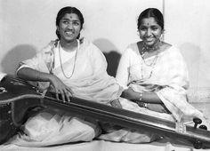 Great Legends Lata Mangeshkar  and Asha Bhosale