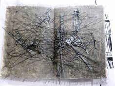 """artist book """"Textus"""" by Stéphanie Devaux"""