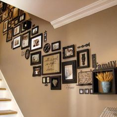 What's up guys! During the week we team of frames store let's bring What's up guys! During the week we team of frames store let's bring … Stair Walls, Stairs, Wall Decor, Room Decor, Wall Art, Wall Collage, Collage Photo, Diy Wall, Deco Originale