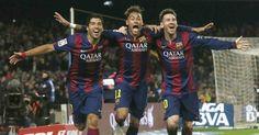 Madrid – Barcelona   Noticias de fútbol exclusivas Messi, Neymar y Suárez hacen historia con el Barça