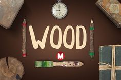 WOOD by Magic Hands on @creativemarket