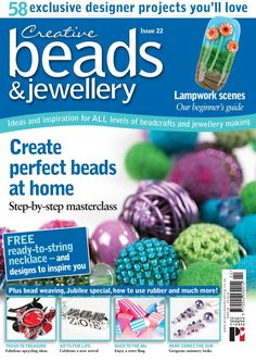 Creative Beads and Jewellery 24 by Practical Publishing - issuu Jewelry Making Tutorials, Beading Tutorials, Jewellery Making, Book Crafts, Bead Weaving, Craft Stores, Handicraft, Jewelry Crafts, Make It Simple