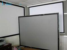Pantallas tripode, manuales, electricas de video beam