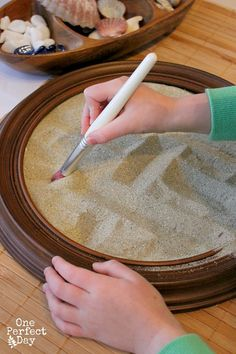 Loose Natural Parts for Exploring An Everyday Story 4 Sand Tray and Loose Parts