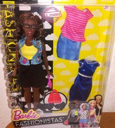 Barbie Fashionistas Doll & Fashions Emoji Fun, Curvy 39 (2015)