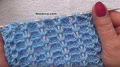İşte yine çok güzel Videolu Kabartma Örgü Modeli deseni. Oldukça şık ve kolay örgüler isteyen hanımlar için Örgü ve Örnek Öğretici yüzlerce Örgü Modelini sitemizde görebilirsiniz. El İşleri ve Örgü… Knitting Stiches, Knitting Videos, Crochet Stitches, Baby Knitting, Knitting Patterns, Wire Crochet, Crochet Hooks, Knit Crochet, Knitted Baby Clothes