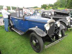 1933 austin six 166 open road tourer at sherborne castle 2016 classic car show - Open Castle 2016