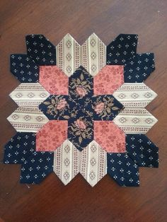 Boston quilt block