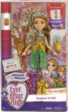 Ever After High Jillian Beanstalk daughter of Jack and the Beanstalk Released Date: March 2016.