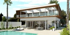 Fantastic new build villa with panoramic sea views on Mallorca #Sol_De_Mallorca  The property is located in the quiet residential area of Sol de Mallorca and is created according to the latest aspects in terms of building materials and technology.  They have a beautiful view of the sea and the Bay of Palma. All cruise ships are passing by.  The villa is in the second row on a https://aiximmo.ch/en/listing/fantastic-new-build-villa-with-panoramic-sea-views-on-mallorca/  #