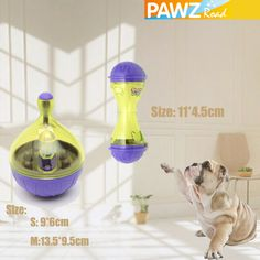 Description: 100% Brand New and high quality Color:AS PICTURE Size: Bone Shape: 11*4.5cm Tumbler: S:9*6cm, M:13.5*9.5cm Pet food slow feeder puzzle toy Interactive puzzle feeding toys, made of high-quality PP material, puzzle fun Finding food is the dog's instinct. This toy can perfectly stimulate the dog's challenge and enthusiasm for a long time. When you are not at home, you will not worried that your lovely pet are lonely and hungry with this one. Safety, and durable Funny with the… Slow Feeder, Pet Feeder, Dog Grooming Clippers, Tumbler Designs, Toy Puppies, Interactive Toys, Puzzle Toys, Pet Food