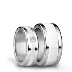 I do - A symbol of eternal love, infinite loyalty, and everlasting unity. With some inspiration from the Arctic, the BE MINE wedding collection presents unique wedding ring combinations named after idyllic and romantic cities in Denmark. Viborg, Small Wedding Rings, Diamond Wedding Rings, Brautring Sets, Wood Engagement Ring, Bering, Mens Stainless Steel Rings, Bridal Ring Sets, Love Symbols