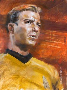 Star Trek: Captain Kirk Artwork