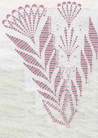 Crochet and arts: doilies round Crochet Doily Diagram, Crochet Doily Patterns, Crochet Mandala, Crochet Chart, Thread Crochet, Crochet Motif, Crochet Stitches, Knit Crochet, Crochet Dollies
