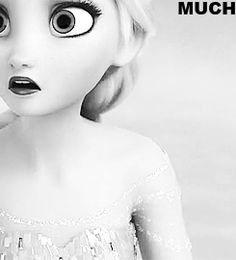 Elsa's expression