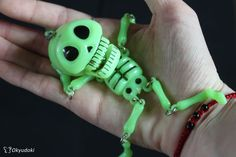 I love play with chibi skull c':  #skull #puppet #calavera