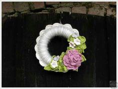 Crochet easter - spring wreath