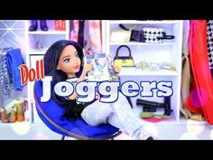 DIY - How to Make: Doll Joggers -Handmade - Clothes - Craft - 4K - Baby Doll Zone