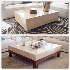 Nadire Atas on Simple and Elegant Living Areas Centre Table Living Room, Center Table, Living Room Sofa, Contemporary Living Room Furniture, Home Decor Furniture, Table Furniture, Furniture Design, Glass Top Coffee Table, Coffe Table