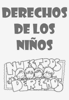 Fichas sobre los Derechos del Niño - El barrio de mi cole - Koynos Cooperativa Valenciana Kindergarten, Teacher, Activities, School, Infants, Beauty, Teaching Supplies, Carnival, Bill Of Rights