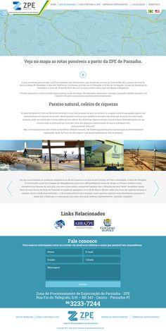 Site ZPE de Parnaíba (Zona de Exportação de Parnaíba) - 2015