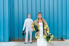 Kallen and Carlson Virginia Beach Firefighter Wedding at The Yacht Club at Marina Shores