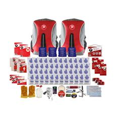 Deluxe 72 Hour Survival Kit is an important part of any household emergency preparedness plan. This emergency preparedness kit is ideal anyone Emergency Candles, Water Purification Tablets, Earthquake Kits, Emergency Preparedness Kit, Stop Light, Waterproof Backpack, Work Gloves, First Aid Kit, Apple Products