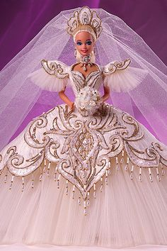 Our favorite wedding-day Barbies: Bob Mackie Empress Barbie (1992)